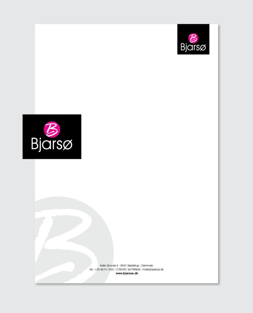 Design af logo og brevpapir